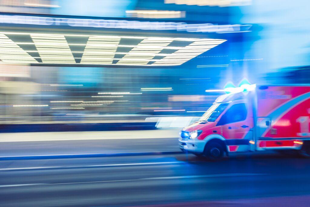An image of an ambulance